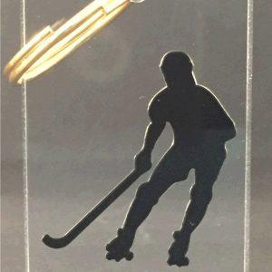 keyring hockey  player