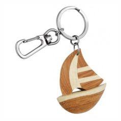 Portachiave legno yacht