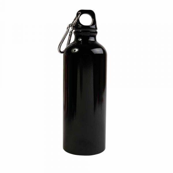 borraccia alluminio nera 12426-02