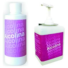 Gel desinfectante de alcalinas