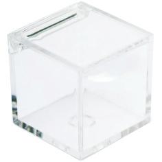 Scatolina in plexiglass con coperchio per piccoli oggetti