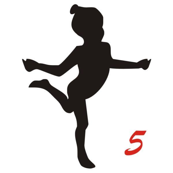 ginnastica bambina figura 5