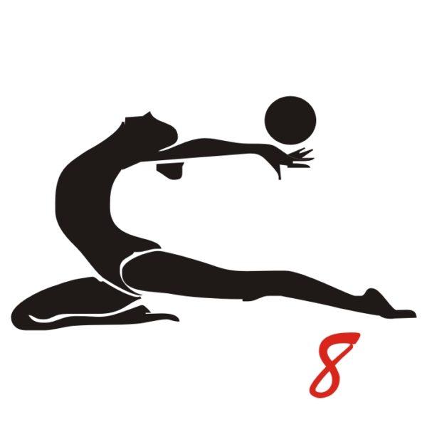 ginnastica ritmica figura 8