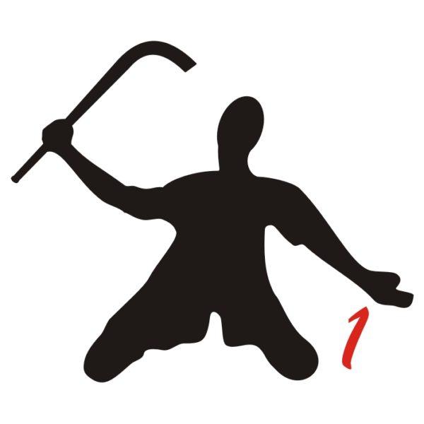 hockey pista logo 1 giocatore