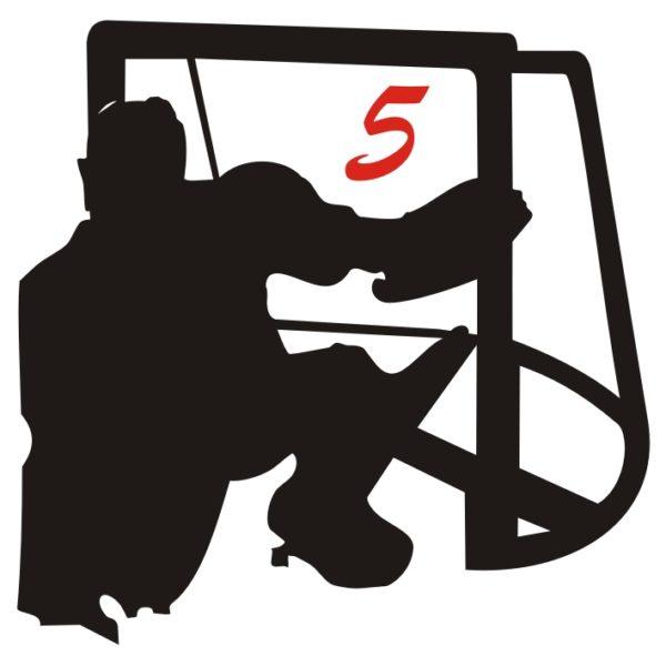 hockey pista logo 5 portiere