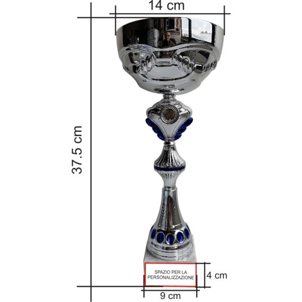Art. 5232 coppa sportiva con base in marmo