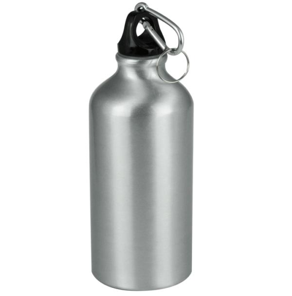 Borraccia 1/2 litro grigia da personalizzare con incisione