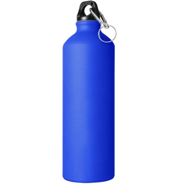 Borraccia in alluminio 750 cl blu opaco da incidere