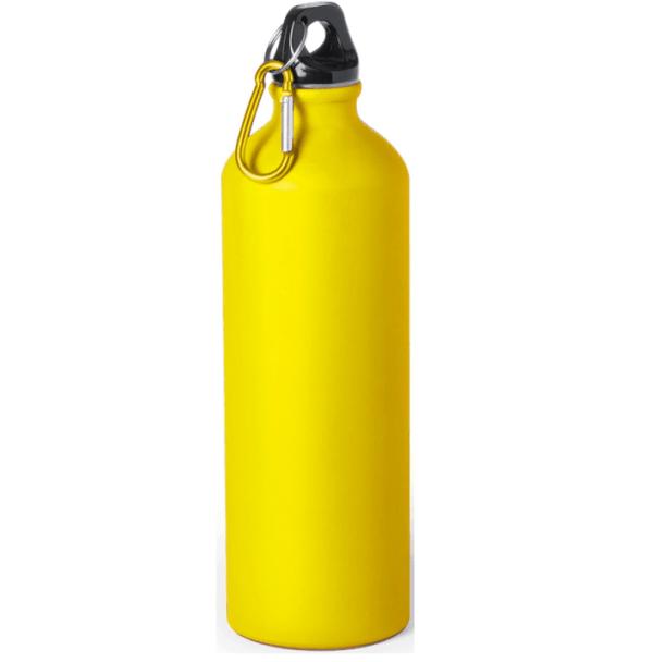 Borraccia in alluminio 750 cl giallo opaco da incidere