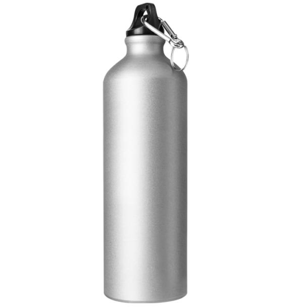 Borraccia in alluminio 750 cl grigio opaco da incidere