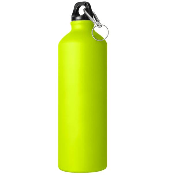 Borraccia in alluminio 750 cl verde chiaro opaco da incidere