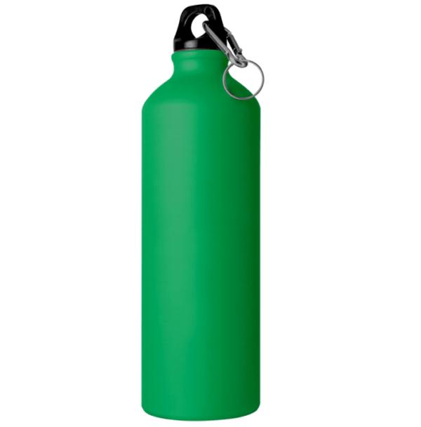 Borraccia in alluminio 750 cl verde scuro opaco da incidere