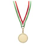 Medaglia con nastro tricolore